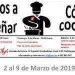 Nyri Cursos de Cocina 2 al 9 de marzo
